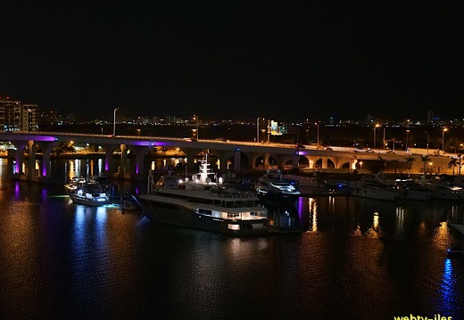 floride-miami-port-night403