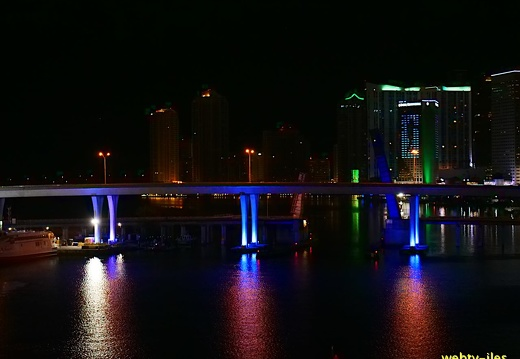 floride-miami-port-night410