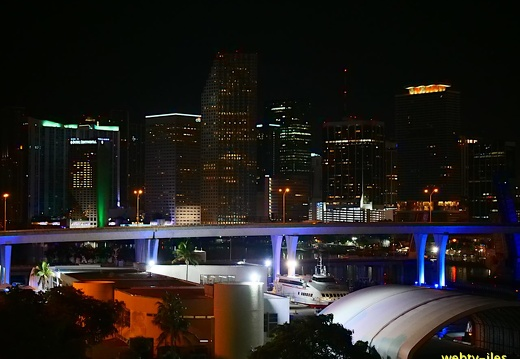 floride-miami-port-night419