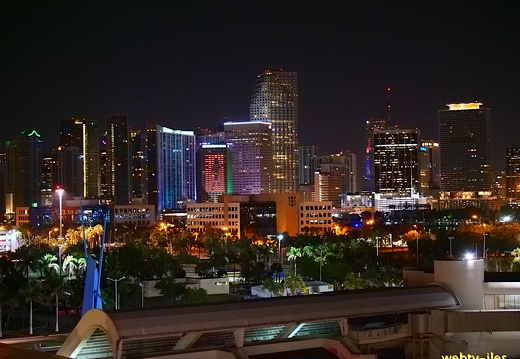 floride-miami-port-night428