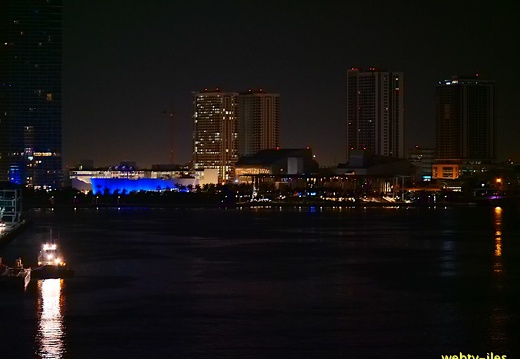 floride-miami-port-night435