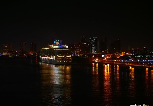 floride-miami-port-night438