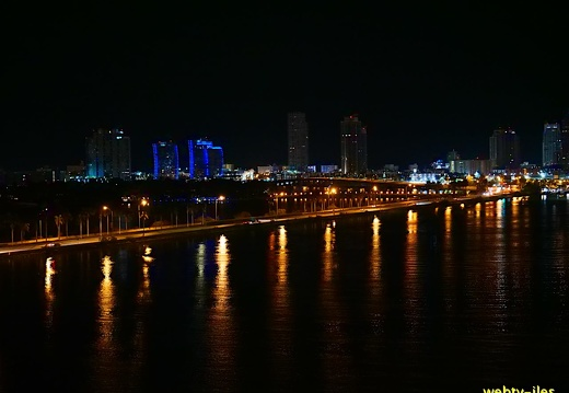 floride-miami-port-night447