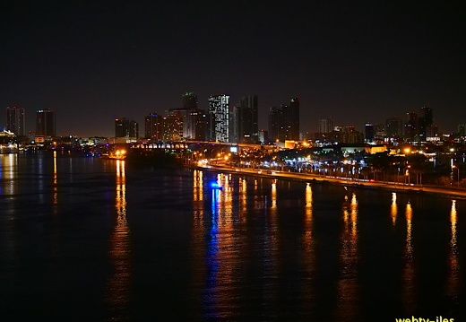 floride-miami-port-night455