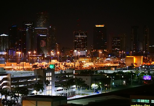 floride-miami-port-night458